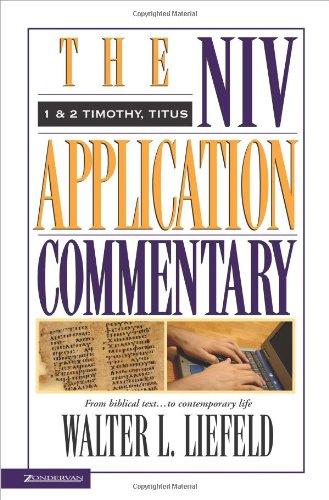 1 & 2 Timothy & Titus (NIV Application
