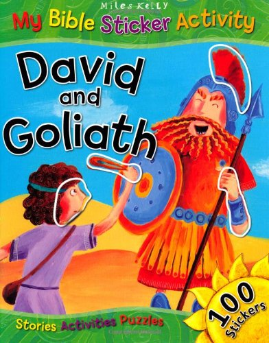 David and Goliath (Sticker Book)