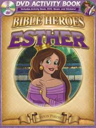 Esther (Bible Heroes) (DVD Activity Book