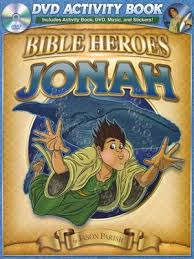 Jonah (Bible Heroes) (DVD Activity Book)