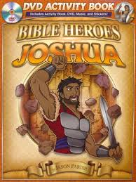 Joshua (Bible Heroes) (DVD Activity Book