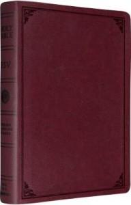 ESV Single Column Legacy Bible Bur Bnd L