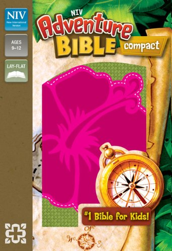 NIV Adventure Bible Compact Pink Flower