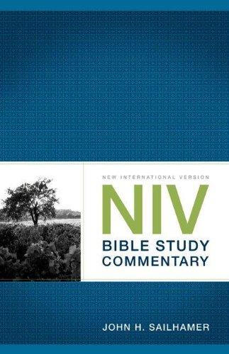 NIV Bible Study Commentary (PB)