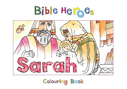 Sarah (Bible Heroes Colouring Book)