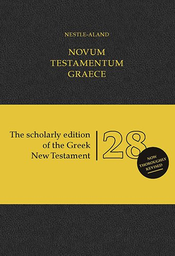 Greek New Testament (Nestle:Aland) (HC)