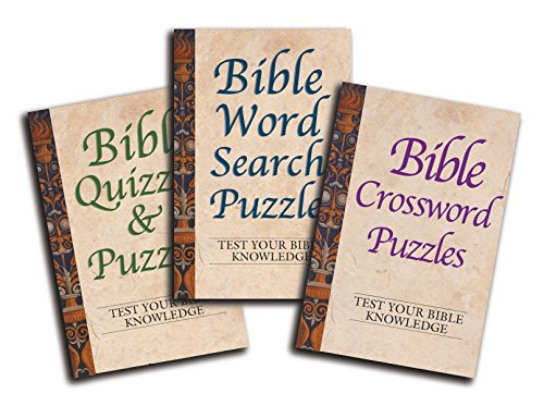 Bible Puzzles (3 Book Set)