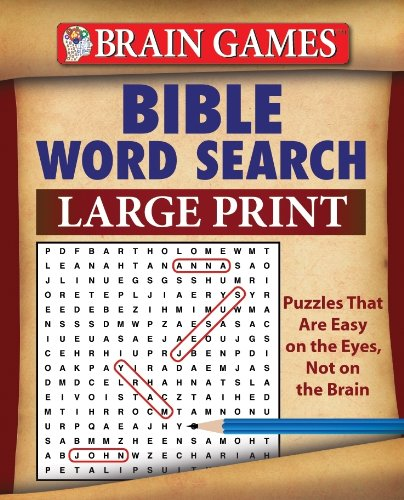 Brain Games Bible Word Search