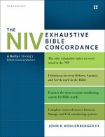 NIV Exhaustive Bible Concordance