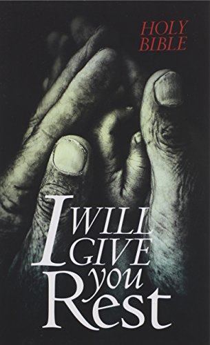 NLT I Will Give You Rest Bible (PB)