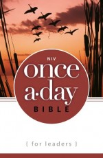 NIV Once a Day Bible for Leaders (PB)