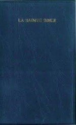 Bible - French 1910 Blue Vinyl