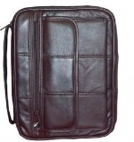 Bible Bag Espresso Bnd Lthr Extra Large