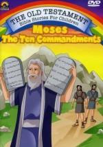Moses The Ten Commandments (DVD)
