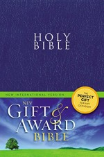 NIV Gift & Award Bible Blue Bnd Lthr