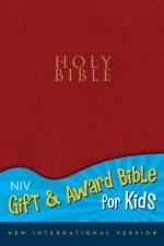 NIV Gift & Award Bible for Kids Red Bnd