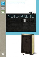 NIV Note Taker's Bible Brwn Bnd Lthr