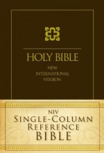 NIV Single Column Reference Bible (HC)
