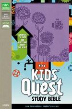 NIrV Kid's Quest Study Bible Lavender Bn