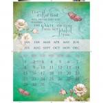Calendar – Metal Magnetic