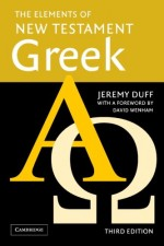 Elements of New Testament Greek (Incl Au
