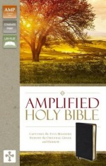 Amplified Bible Black Bnd Lthr