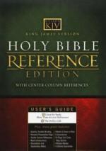 KJV Reference Bible Burg Bnd Lthr Centre
