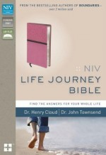 NIV Life Journey Bible PinkCho Bnd Lthr
