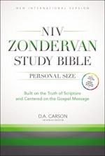 NIV Zondervan Study Bible Pers Size HC