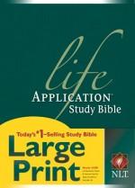 NLT Life Application Study Bible Lrg Prn2