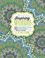 Inspiring Words (Colouring Book)