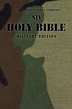 NIV Holy Bible (Military Camo)