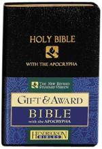 NRSV Gift & Award Bible Blk Bnd Lthr
