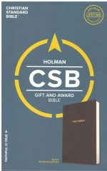 CSB Gift & Award Bible Black Bnd Lthr