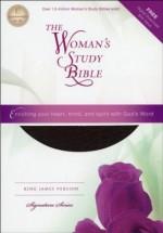 KJV Woman's Study Bible Blk Bnd Lthr