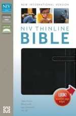 NIV Thinline Bible Blk Bnd Lthr