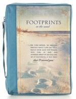 Bible Bag Medium Footrpints