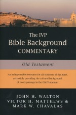 IVP Bible Background Commentary Old Test