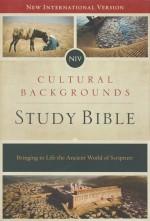 NIV Cultural Background Study Bible (HC)