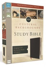 NIV Cultural Backgrounds Study Bible Blk
