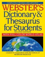 Webster's Dictionary & Thesaurus for Stu