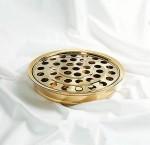 Communion Tray & Disk (Brass)