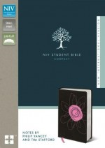 NIV Student Bible Compact Espresso:Pink