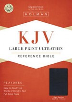 KJV Large print ultrathin ref