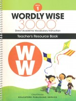 Wordly Wise 3000 (Book 1) (Teacher's Res