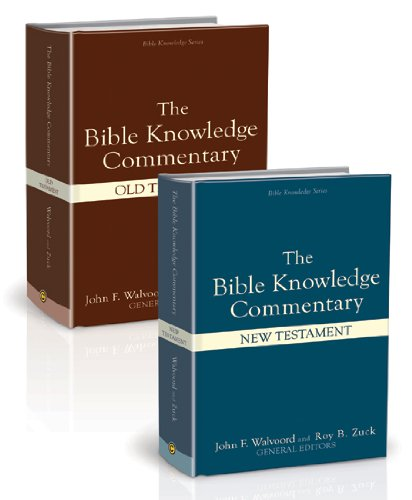 Bible Knowledge Commentary (2 Vol Set)