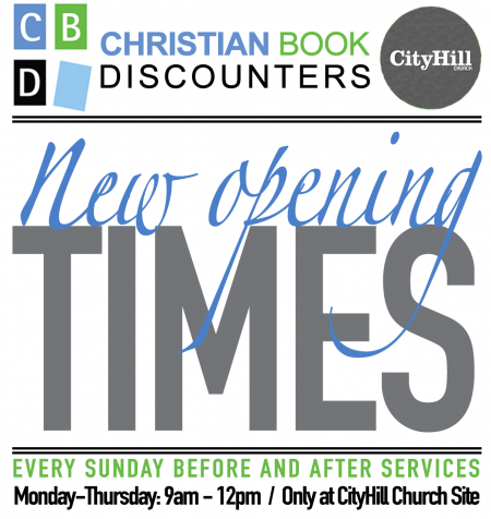 CityHill new opening times