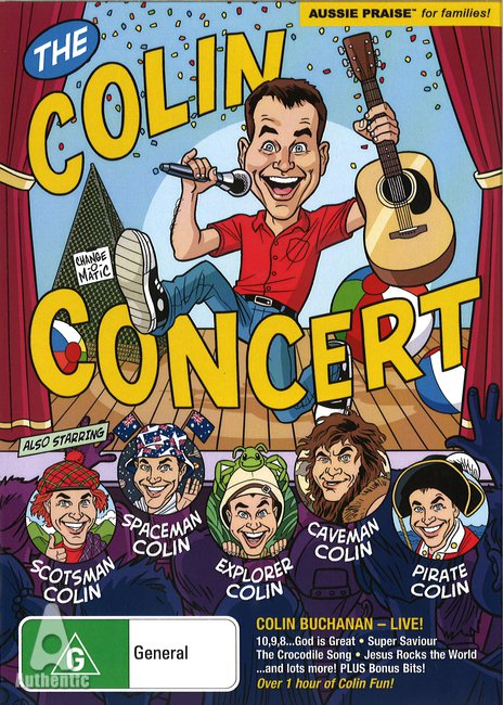 Colin Concert, The (DVD)