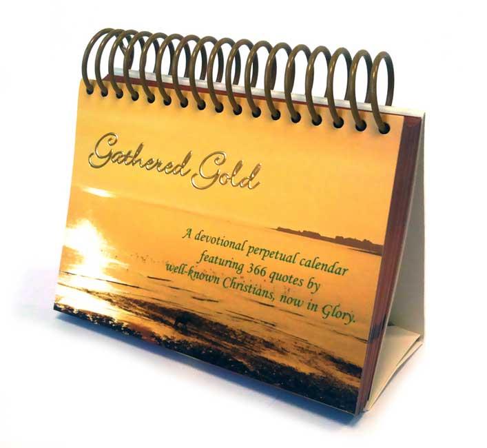 Gathered Gold (Desk Calendar)