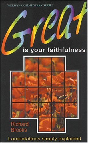 Great is Your Faithfulness (Lamentations